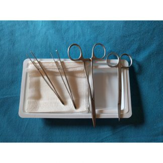 Single use Dermatology instruments and packs